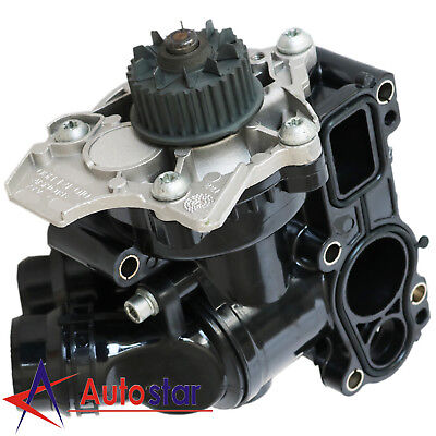 New Water Pump Thermostat Assembly For Audi A4 VW Golf Jetta EOS1.8T 2.0T, used for sale  Rowland Heights