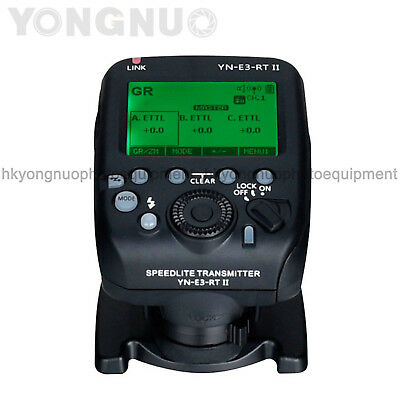 Yongnuo Updated YN-E3-RT II Speedlite Transmitter for YN600EX-RT Canon 600EX-RT