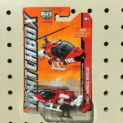 2013 Matchbox 60 Anniversary MBX Heroic Rescue Mission Helicopter