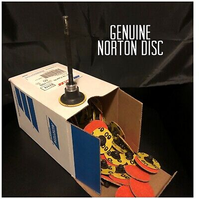 Norton 63642595470 Power Sander Quick Change Discs Size 2 36 Grit