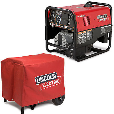 Lincoln Outback 185 Welder Generator W Cover K2706-2