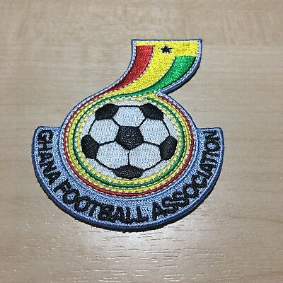 Ghana Logo Patch Emblem Jersey Badge Africa Unity Black Stars Trikot Camiseta