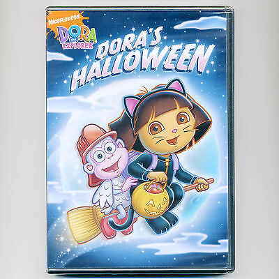 Dora's Halloween, G, new DVD Nick Jr. PBS episodes, kids, Boots, wizard, troll](Episodes Halloween)