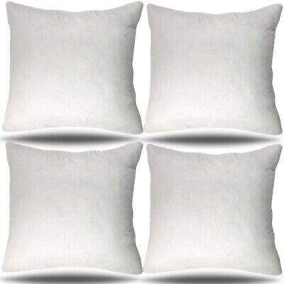 30x30 Pillow Insert - Set of 4 - Euro Sham Cushion Stuffer 30 inch Made in USA ()