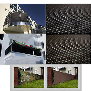 Privacy garden fence panel cover balcony shade screen for Balcony covers for privacy