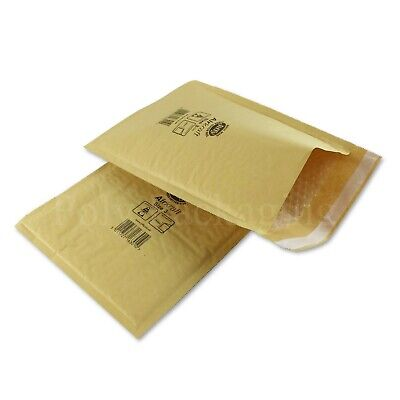 150 x JIFFY GOLD ENVELOPES 220x320mm(Size 3) Padded Mailing Bags Small Parcel