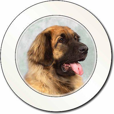 Blonde Leonberger Dog Car/Van Permit Holder/Tax Disc Gift, AD-LE1T