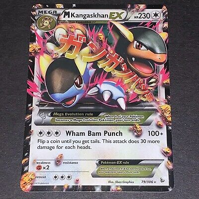 M Kangaskhan-EX Ultra Rare NM Pokemon XY Flashfire 3Q6 79//106