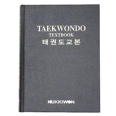 Taekwondo Textbook Korean English Poom Sae Motion Video QR Code Kukkiwon TKD MMA