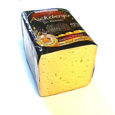 Tilsiter Käse GvH Ascheberger für Kenner 45% Fett i.Tr. geschmiert 500g