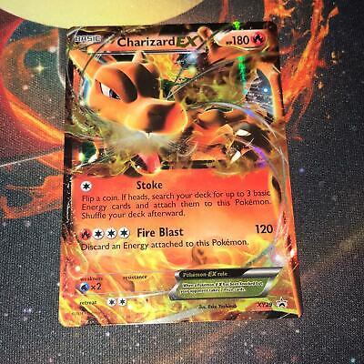 Charizard EX ~ XY29 ~ Half Art ~ PROMO ~ LIGHT PLAY ~ Pokemon Card