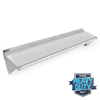 Open Box - Stainless Steel Commercial Kitchen Wall Shelf Restaurant - 14 X 48