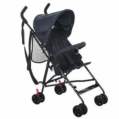 Passeggino Leggero Pieghevole per Bambini 3-36 Mesi Benzoni Blu Scuro