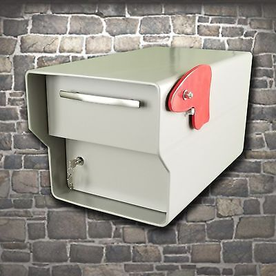 Locking Security Rural Mailbox ~ 98 Pounds! Extreme heavy duty vault for mail