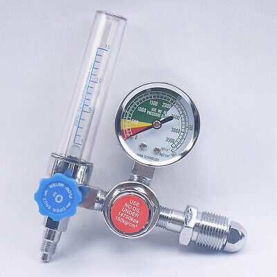 Oxygen Inhalator Meter Medical Pressure Reducing Valve Pressure Regulator