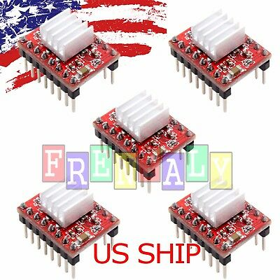 5pcs A4988 Stepper Motor Driver Module Reprap 3d Printer Polulu Stepstick