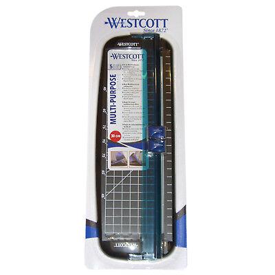 Schneidelineal mit Klingen zum schneiden + falzen, 30 cm, von Westcott NEU OVP