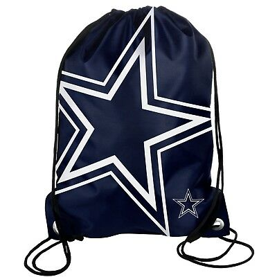Used, Dallas Cowboys Back Pack Sack Drawstring Bag Tote NEW Backpack Star BIG LOGO for sale  Shipping to Canada