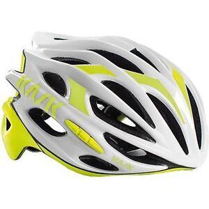 Helmet Kask Mojito White - Yellow, Medium