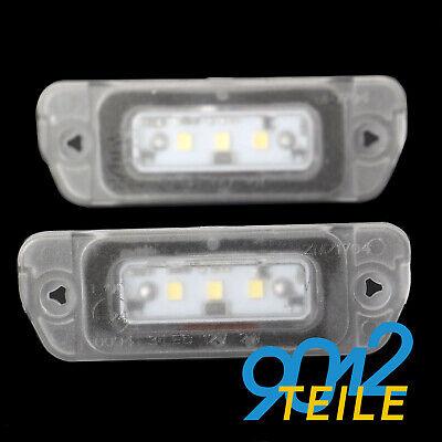 für Mercedes W164 X164 W251 V251 LED Kennzeichenbeleuchtung Kennzeichenleuchte