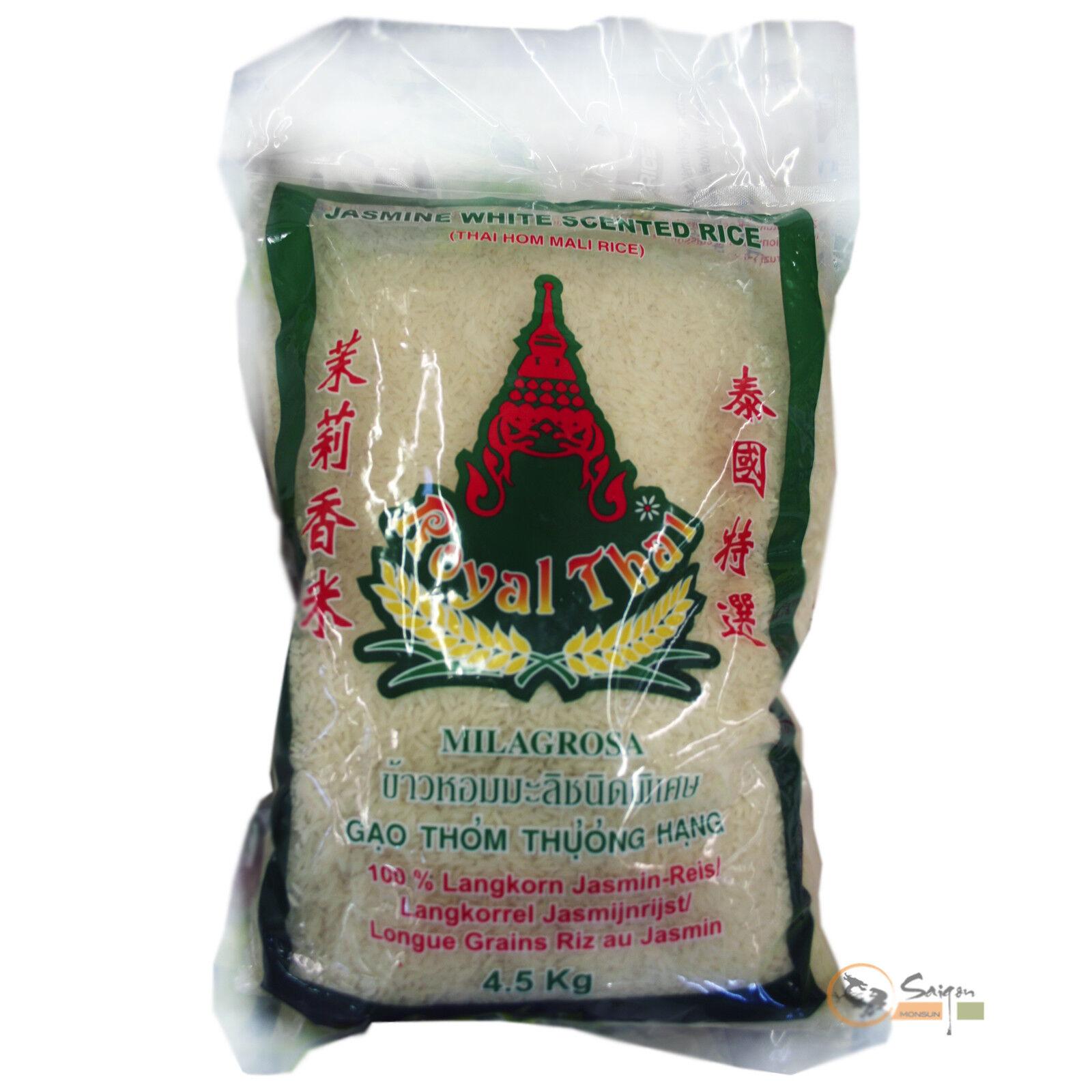 4,5kg Royal Thai Langkorn Duftreis Jasminreis Milagrosa Jasmin Reis