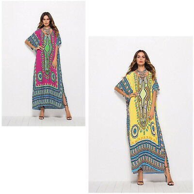 YELLOW Floral Summer Dresses For Women CHEAP Casual African Dresses](Dresses For Women Cheap)