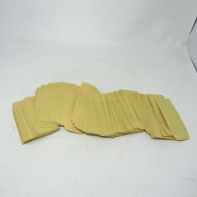 Vintage Lot 150 Small Manila Envelopes Gum Sealed No Metal