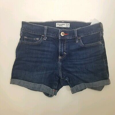 Abercrombie Kids Denim Jean Shorts Size 13/14
