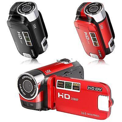 Full Hd 16X Zoom Dv Camera Camcorder Ir Night Vision Digital Video Recorder Hyfg