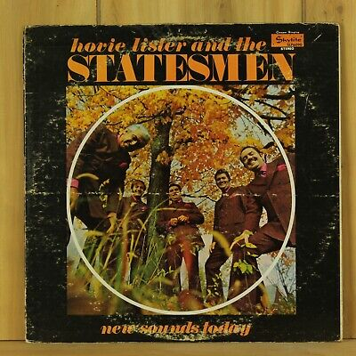 Hovie Lister & The Statesmen New Sounds Today Skylite LP Band Signed Autographed