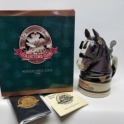 Anheuser-Busch 1996 CC Members Only Stein