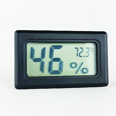 Mini Lcd Digital Indoor Temperature Humidity Gauge Thermometer Hygrometer