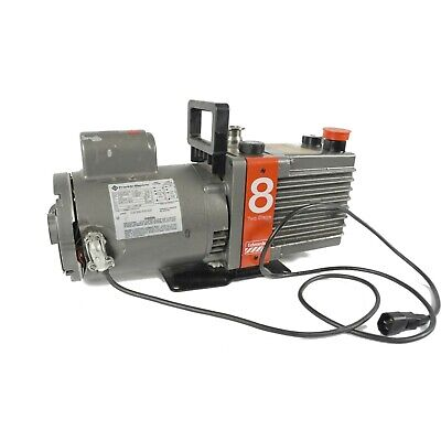 Edwards E2m8 2-stage Direct Drive Rotary Vane High Vacuum Pump W1725rpm Motor