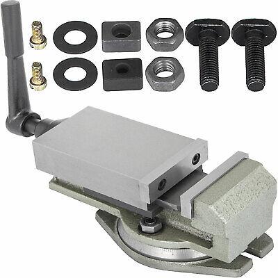 3 Milling Lock Vise Precision Drilling Machine W Swivel Base Bench Clamp