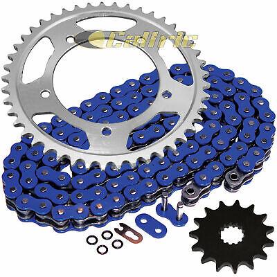 Blue O-Ring Drive Chain & Sprockets Kit for Suzuki GSX-R600 GSXR600 2001-2005