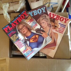 Vintage Playboys ('80 -'92, assorted) PRICED TO SELL