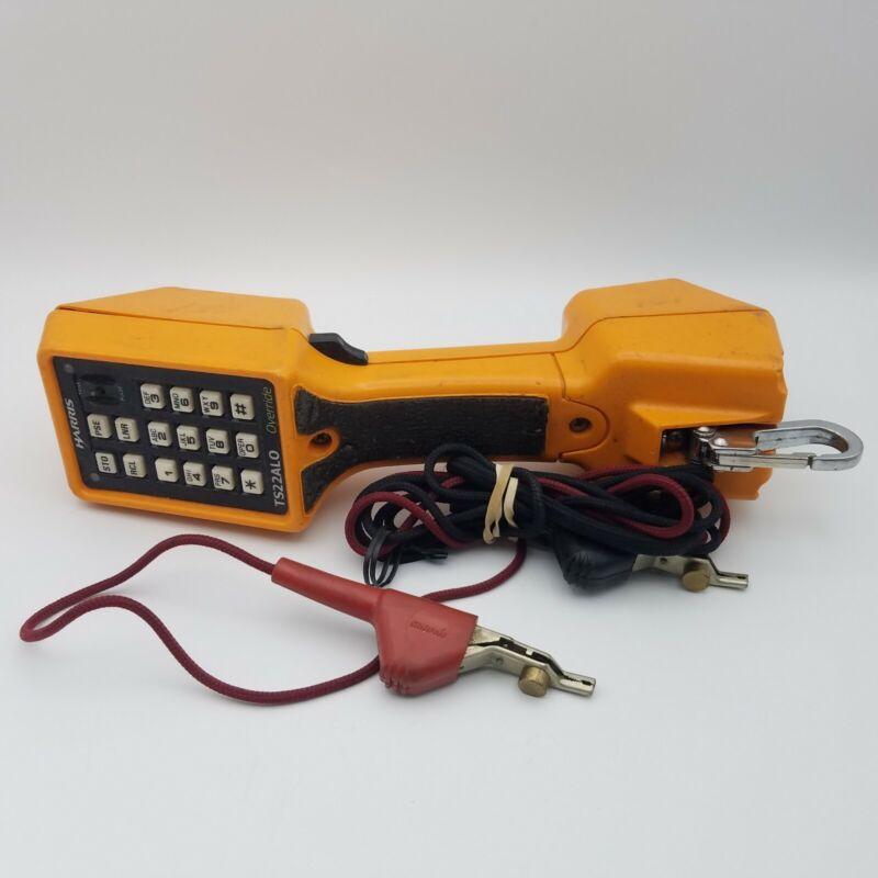 Harris Model TS22ALO Telephone Linesman Butt Handset Speakerphone Data Lockout