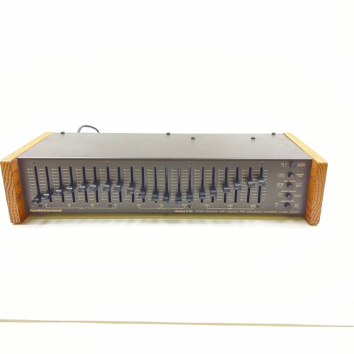 Audio Control C-22 Octave Equalizer Tested Working Guaranteed