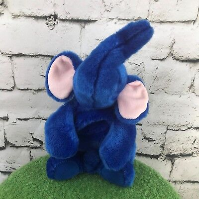 Ty Beanie Buddies Collection Blue Elephant Plush Stuffed Animal Soft Toy