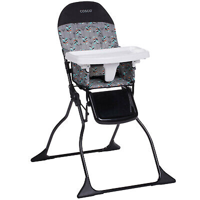 Cosco Simple Fold High Chair, Etched Arrows