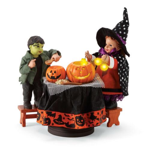 Dept 56 Possible Dreams Halloween Pumpkin Carving New 2020 6006455