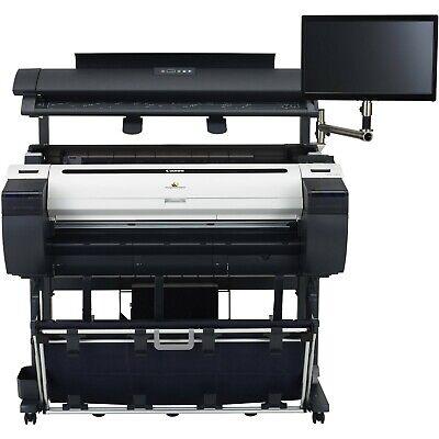 Canon Imageprograf Ipf785 36 Color Wide-format Printer Scanner