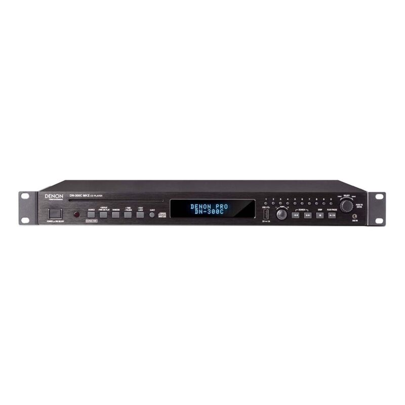 Denon DJ DN-300CMKII Rackmount CD and Media Player