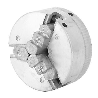 3 Jaw Chuck 125mm Self Centering Lathe Chuck Clamping Diameter 1.8-56mm