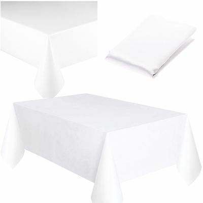 Plastic Table Cover Cloth Square Reusable Wipe Clean Waterproof Party - Square Plastic Tablecloths