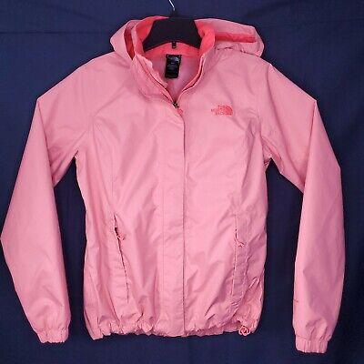 The North Face Pink DryVent Full Zip Lightweight Windbreaker Jacket Women's M