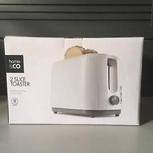 Home and Co 2 Slice Toaster Preston Darebin Area Preview