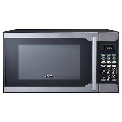 Oster 0.7 Cu. Ft. 700 Watt Microwave Oven - Stainless Steel