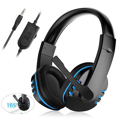 gaming headset headphone wired mic stereo surround