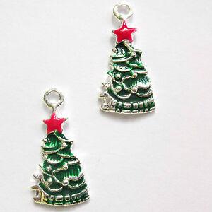 5-Enamel-25mm-Christmas-Tree-Charms